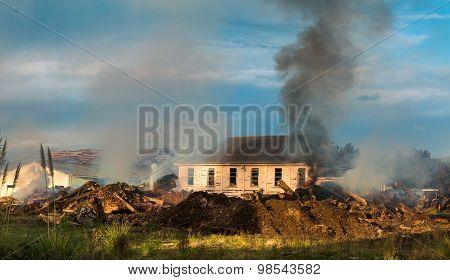 Demolish Old Buildings
