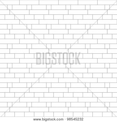 Abstract gray striped geometric seamless background brick wall