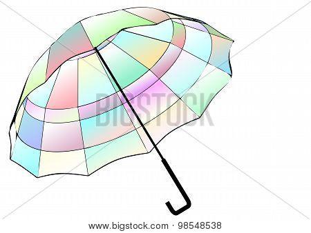 Multicolor Umbrella