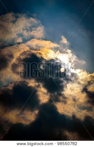 Dark Clouds Over The Sun
