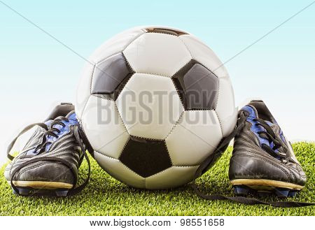Football With Shoes