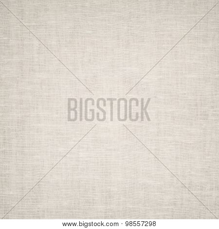 Clean gray burlap texture. Woven square fabric
