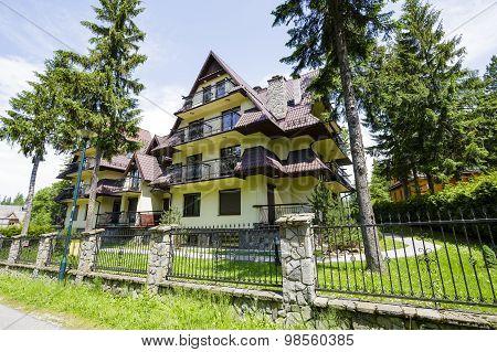 A Complex Of Modern Buildings In Zakopane