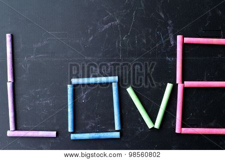 Rams Chalk Colorful