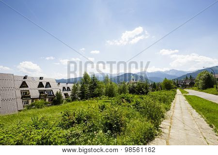 Green Areas At Paradlowka In Zakopane