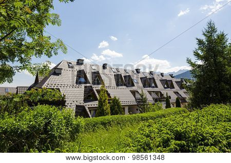 Housing Estate At Paradlowka, Zakopane