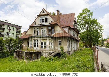 Maryska, Old Wooden Villa In Zakopane, Poland