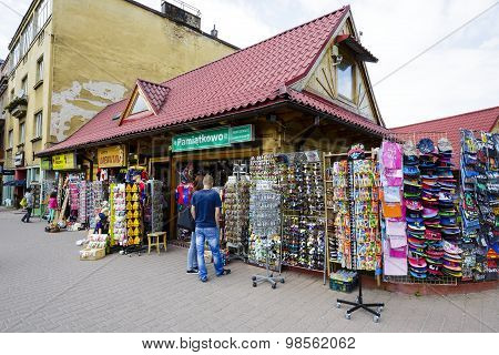 Sales Of Various Small Stuff In Zakopane