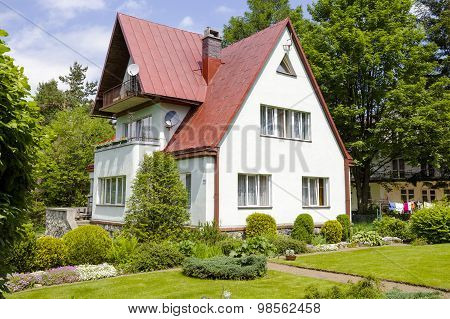 The Brick Villa In Zakopane, Poland