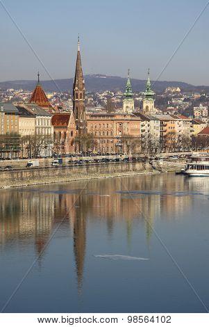 View on Buda bank of Budapest, Hungary
