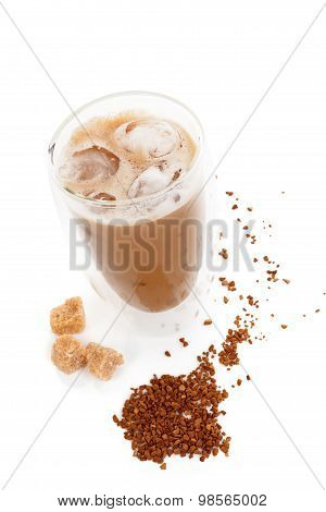 Delicious Ice Coffee.