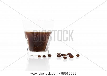 Turkish Coffee Isolated.