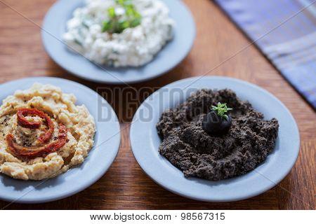 Delicious Food Pastes