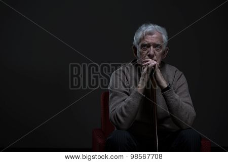 Thoughtful Elder Man