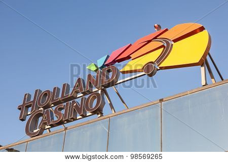 Holland Casino Sign