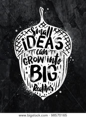 Poster Ideas Chalk