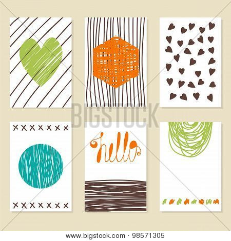Background Design For Poster, Flyer, Cover, Brochure. Doodle Decor For Decorating Greeting Card, Des