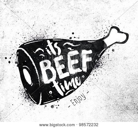 Poster Beef