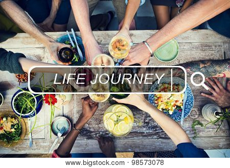 Life Journey Journey Exploration Expedition Tourism Concept