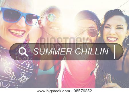 Friends Friendship Vacation Togetherness Fun Concept
