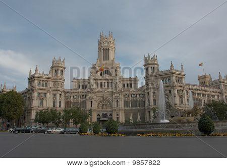 Palacio De Comunicacion, Plaza de Cibeles, Madrid