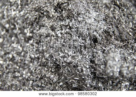 Alloy Filings For Recycling In Engineering Factory
