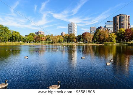 Loring Park In Autumn 3
