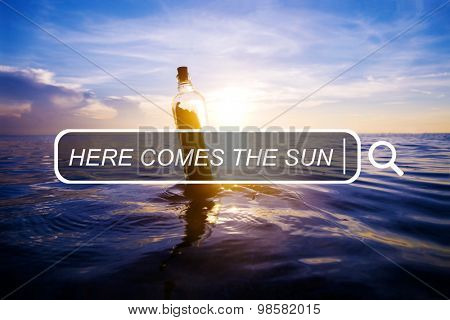 Here Comes The Sun Freedom Happiness Join Concept