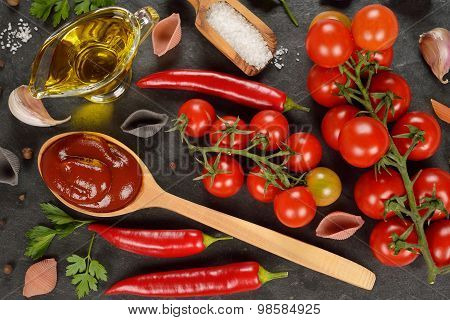 Tomato Sauce And Spices
