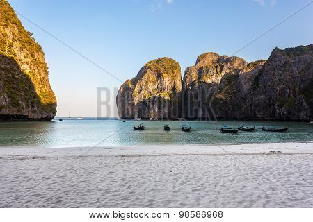 Maya Beach In Thailand