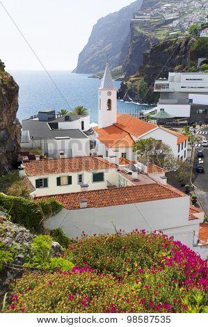Camara de Lobos resort, Madeira island, Portugal