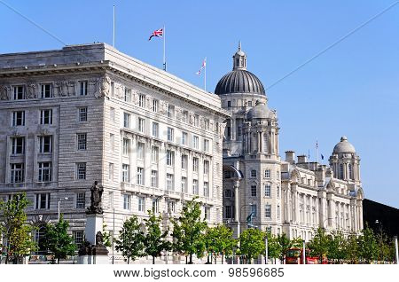 Port of Liverpool Building.