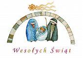 Christmas in Polish poster