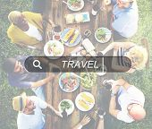 Travel Vacation Holiday Tourism Leisure Destination Concept poster