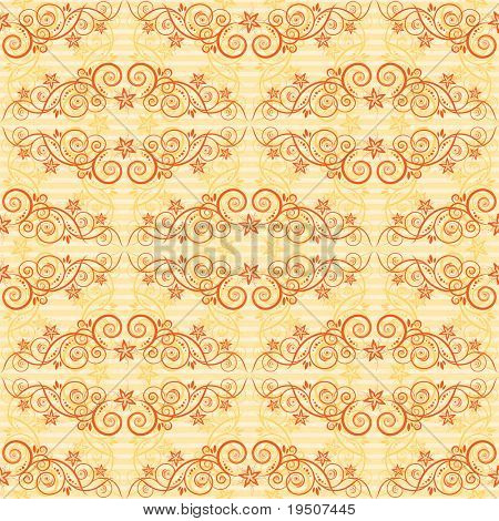 Seamless background. The classic elegant design. Orange. Two layer. Striped horizontal background. JPG (See Vector  Also In My Portfolio)