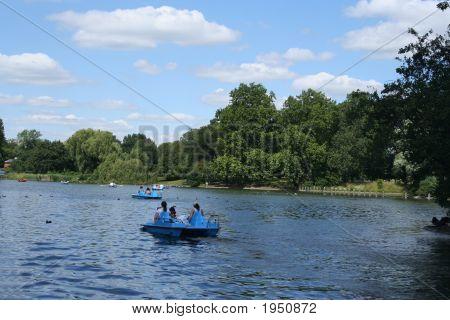 Regents Park Boating Lake