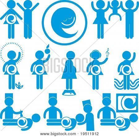 Icons People Green and Your Happiest Pregnancy (Version vector 15996337)