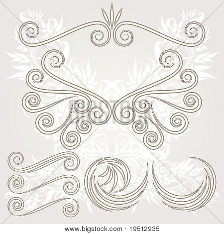 A set of vintage items