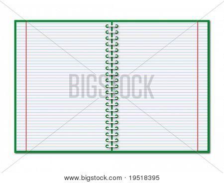 Offene copybook