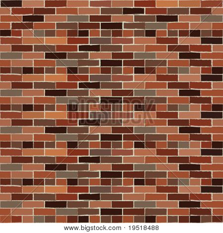 Seamless brickwall - vector illustration