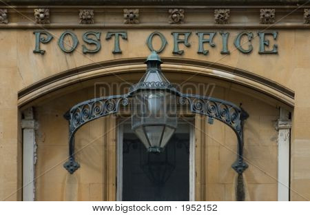 Victorian English Post Office