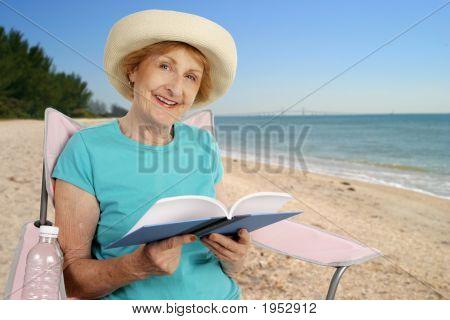 Summer Reading At Beach