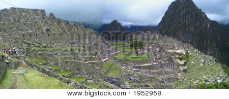 Panorama Machu Piccu