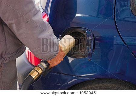 Supplying Of Gasoline