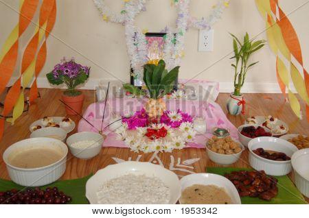 Hindu Religion Saraswati Puja