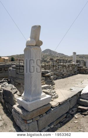 Phallus Temple Of Dionysos Dionysus