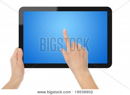 Holding and Pointing on Tablet PC