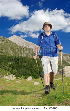Hiking In National Park Pirin, Bulgaria