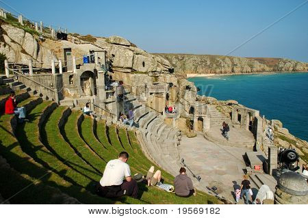 Dramatic view of a theatre in Cornwall