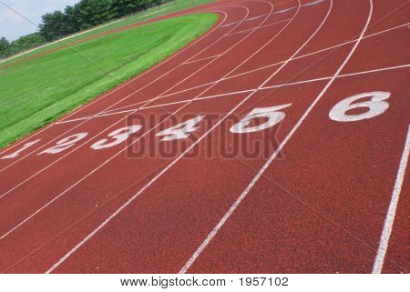 Track Turn With Numbers